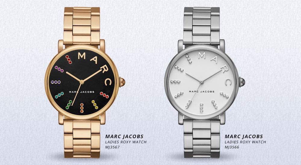 Marc Jacobs Saat Roxy'yi İzle